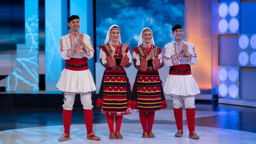 Певците Татяна Сърбинска и Стоян Варналиев .