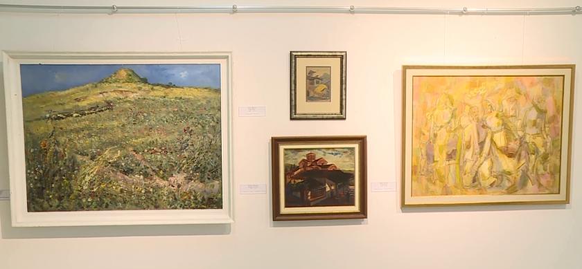 Представителна експозиция живопис на автори от края на 19-ти до средата на 20-ти век