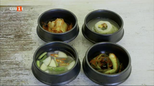 Вкусът на Република Корея: Кимчи с ряпа и бяло кимчи