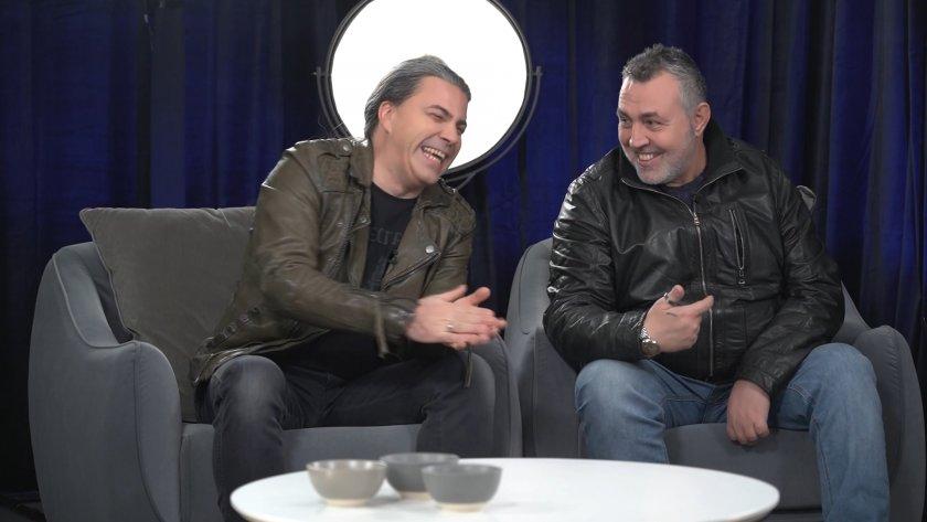 Христо Мутафчиев и Наско от Б.Т.Р. за тяхното 20-годишно приятелство