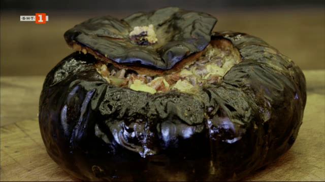 Капама в тиква и тиквен чийзкейк с кокосов крем