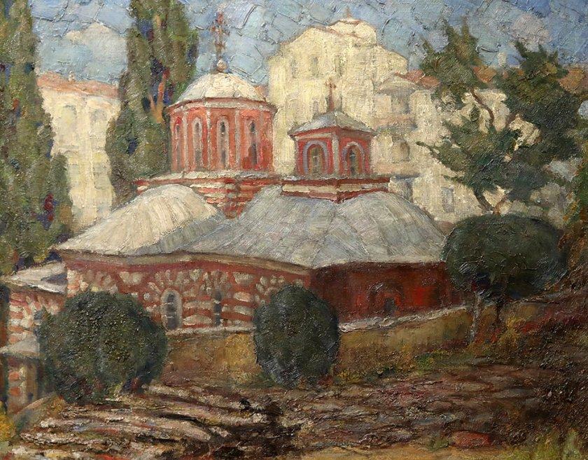Градина на духовността. Света гора и българското изкуство от първата половина на ХХ век