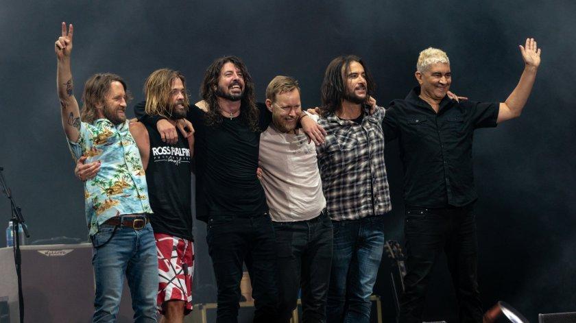 Ексклузивно интервю на легендарната банда Foo Fighters