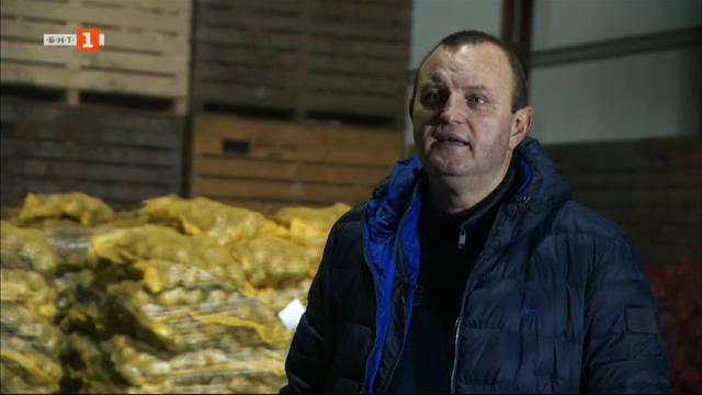 Тодор, който дари картофи на социални кухни, самотни родители и бедни хора