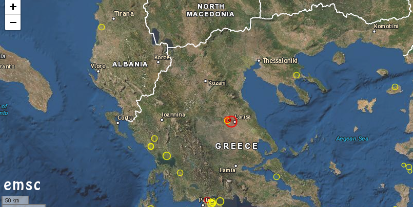 Гърция след земетресението и преди новите мерки