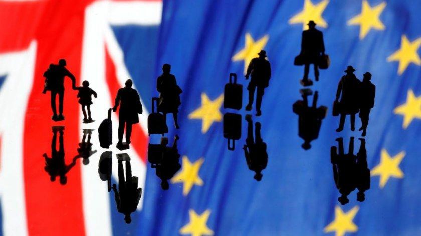 Какво се случва със статута на българите във Великобритания след Брекзит