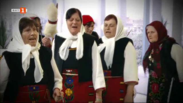 Тронките от село Момина църква за обичаите Пеперуга и Еньова буля
