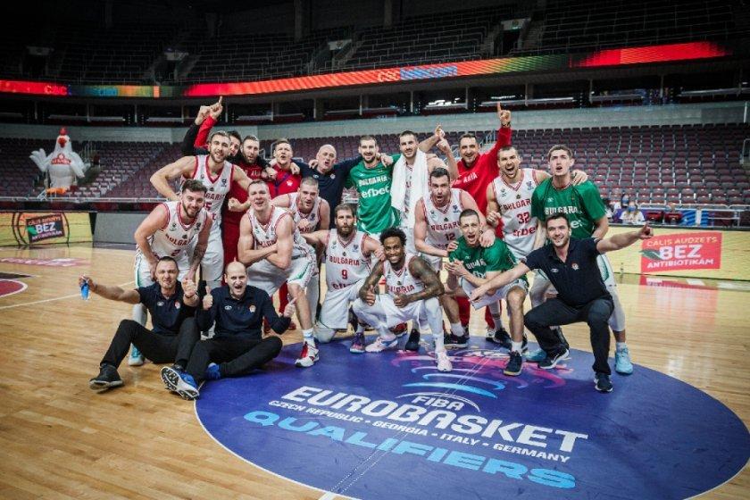 Когато мечтата стане реалност - още за класирането на България на Евробаскет 2022