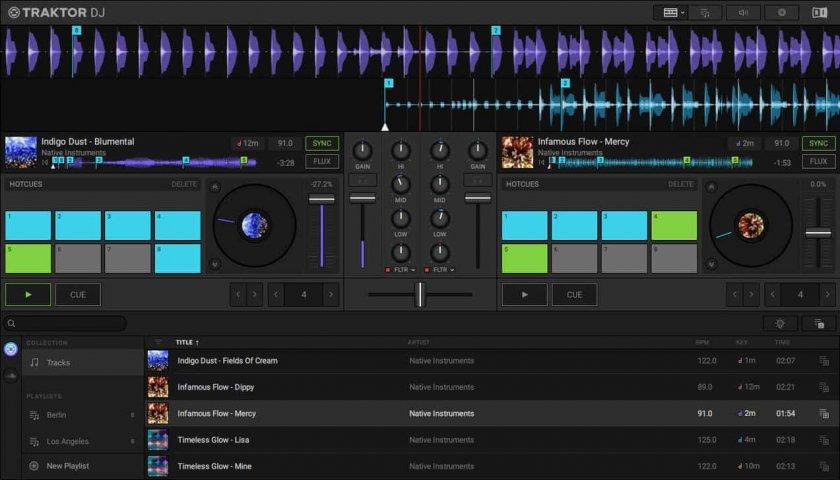 Как да работим със софтуерният музикален миксер TraktorDJ