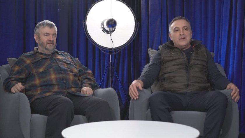 Режисьорът Теди Москов, актьорът Роберт Янакиев и Станимира от Шоколадовата къща