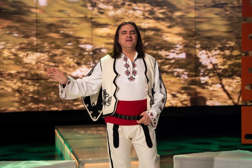 Народният певец Димитър Аргиров