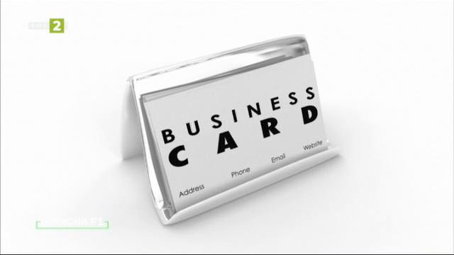 Как да си направим визитна картичка с безплатна графична програма