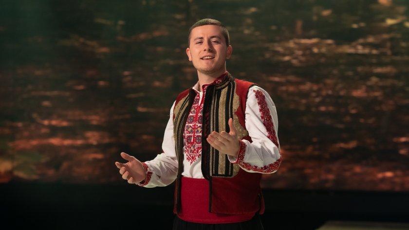 Среща с младия певец Антонио Симеонов