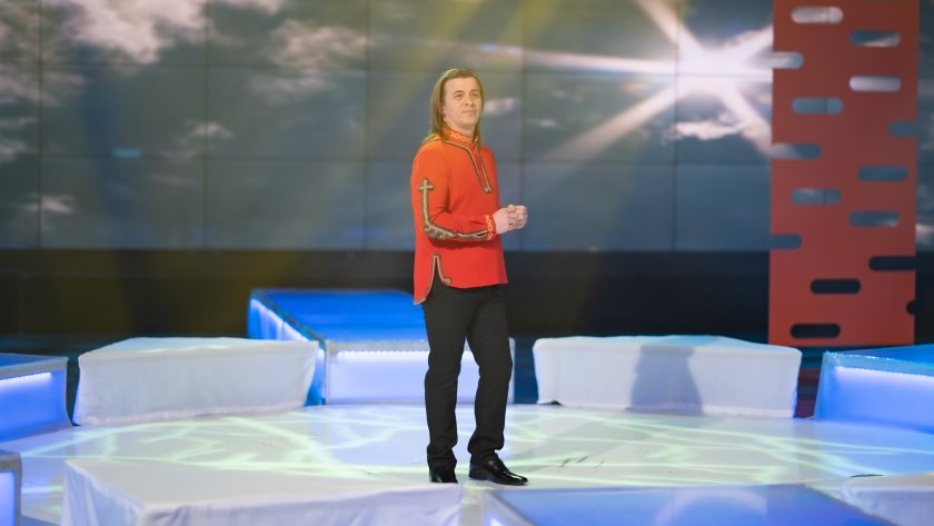 Младият певец Ивайло Герасимов