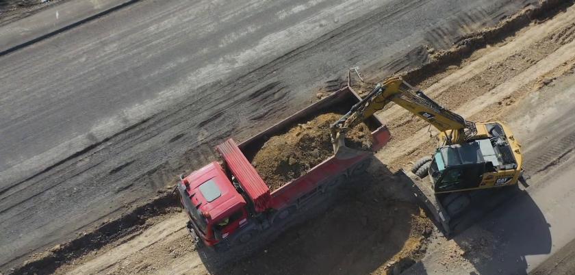 """Пуснаха движението в ремонтирания шесткилометров участък от магистрала """"Тракия"""""""