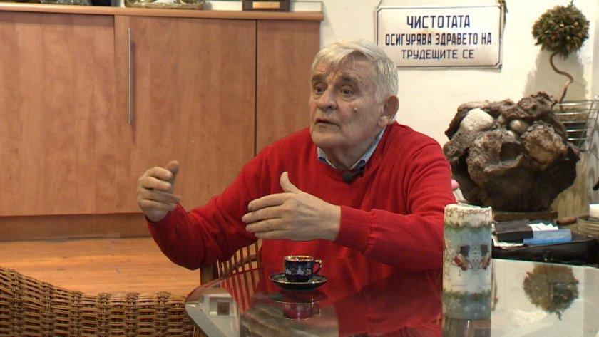 Режисьорът Георги Стоев-Джеки на 80 години