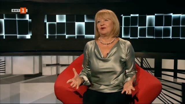 """Актрисата Анета Сотирова в """"БНТ на 60"""""""