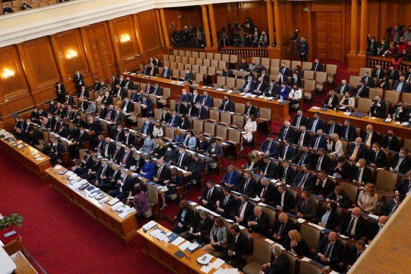 Заявки за законодателни промени в първия ден на Народното събрание