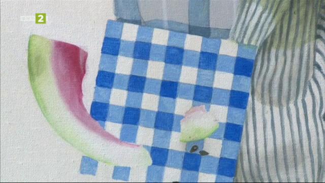 """Невербалният пърформънс """"Лечение"""" на русенската художничка Вяра Гунева"""