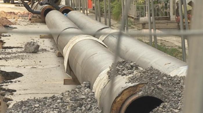Ремонт в центъра на София оставя жителите без топла вода няколко месеца