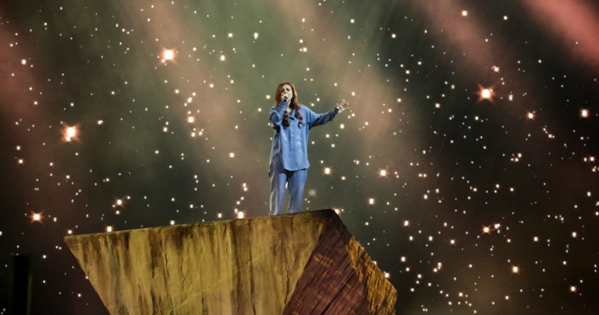 Виктория предизвика фурор след втората си репетиция на Евровизия 2021