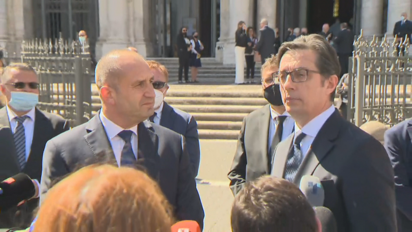Bulgaria's President Radev: Pendarovski and I are sending a clear message of cooperation, trust and friendship