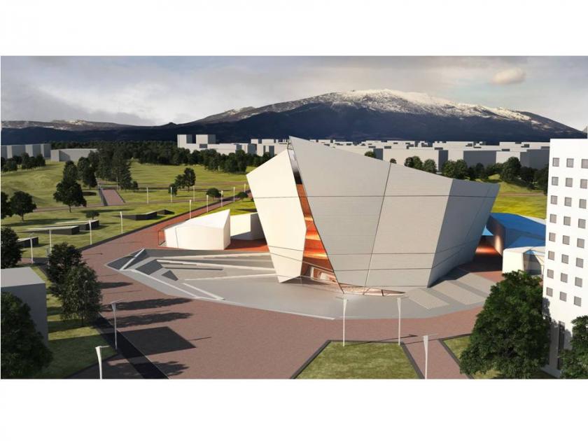 """Проект за нова концертна зала """"Нов храм на музиката"""""""