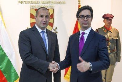 Общо посещение в Рим на президентите на България и Северна Македония