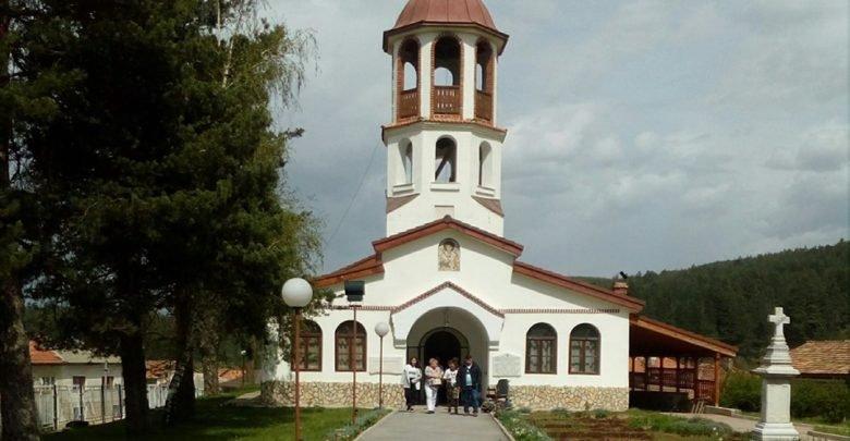 "Храмът ""Свети Георги Победоносец"" в село Баня"