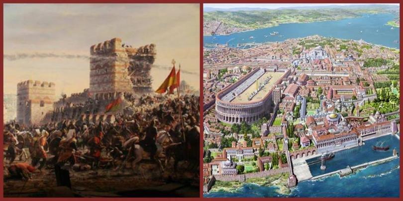 Падането на Константинопол – Вечният град