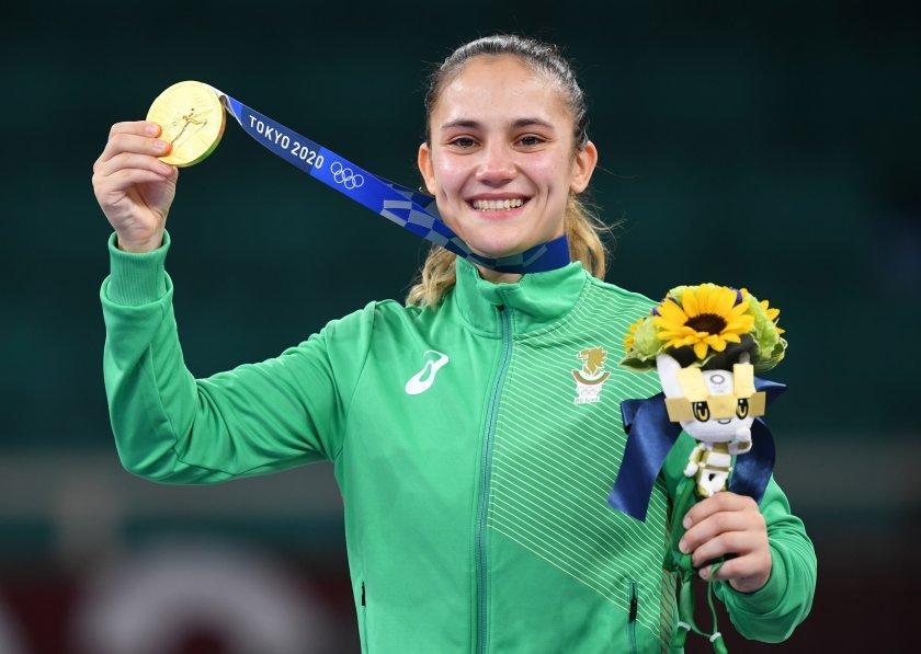 Паметен момент за България, Ивет Горанова получи златен олимпийски медал