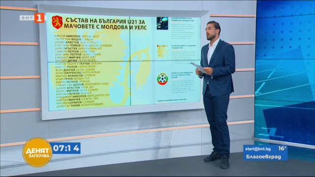 Спортна емисия, 07:05 – 25 август 2021 г.