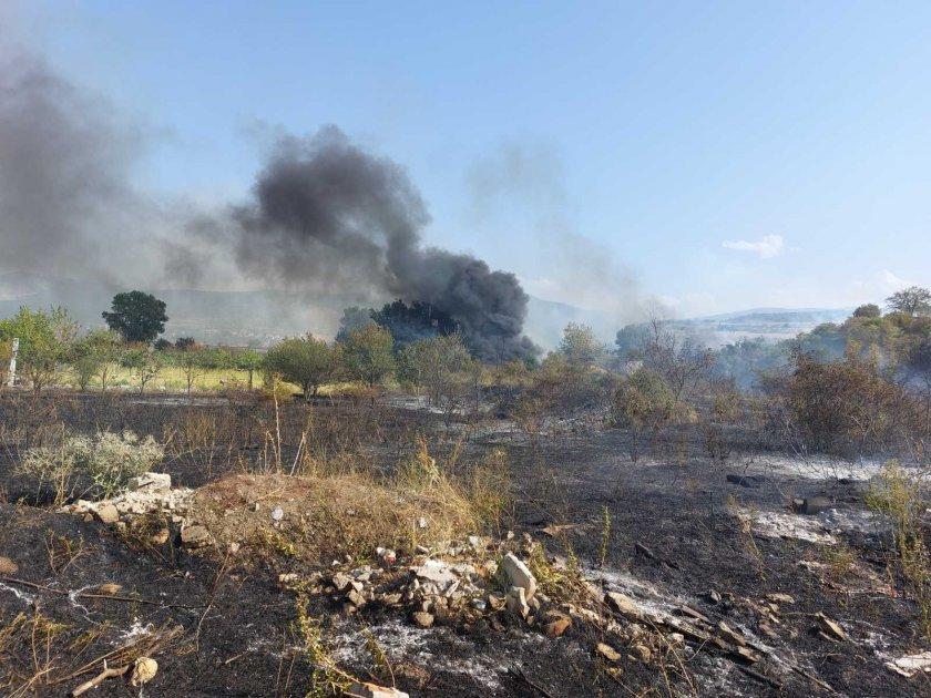 Пожарите в страната