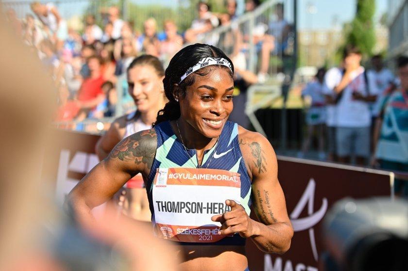 Най-бързата жена в света е Илейн Томпсън