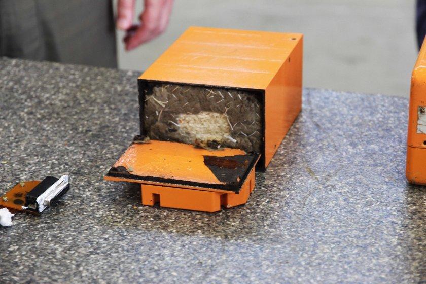 Какво показа информацията от черната кутия на разбилия се край Шабла изтребител?