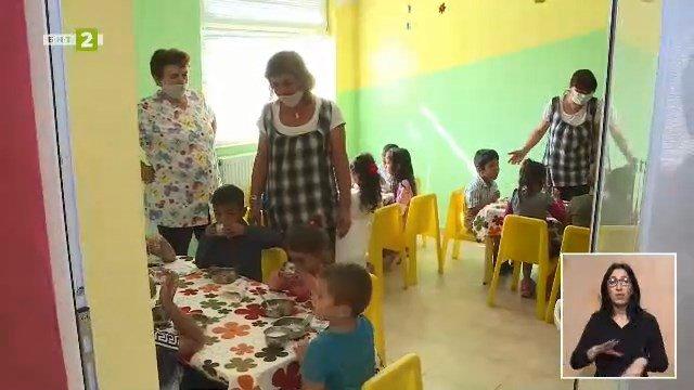 Детска градина в русенско село е сред първите, ваксинирани почти на 100%