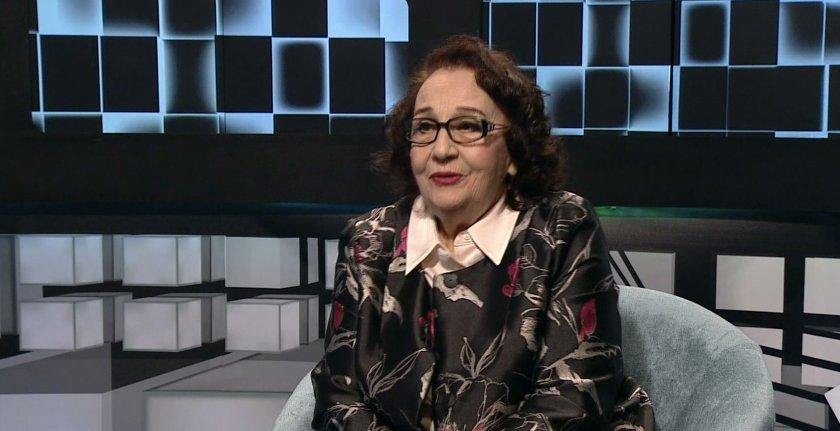 """Актрисата Мария Стефанова в """"БНТ на 60"""""""