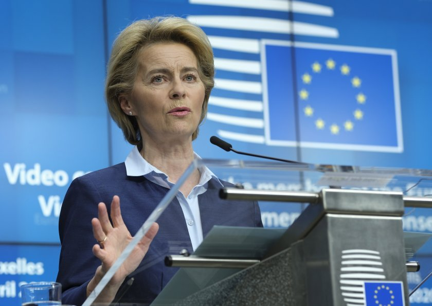 Урсула Фон дер Лайен с годишна реч за състоянието на Съюза