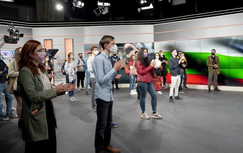 ТВ Академията на БНТ отвори врати за студенти