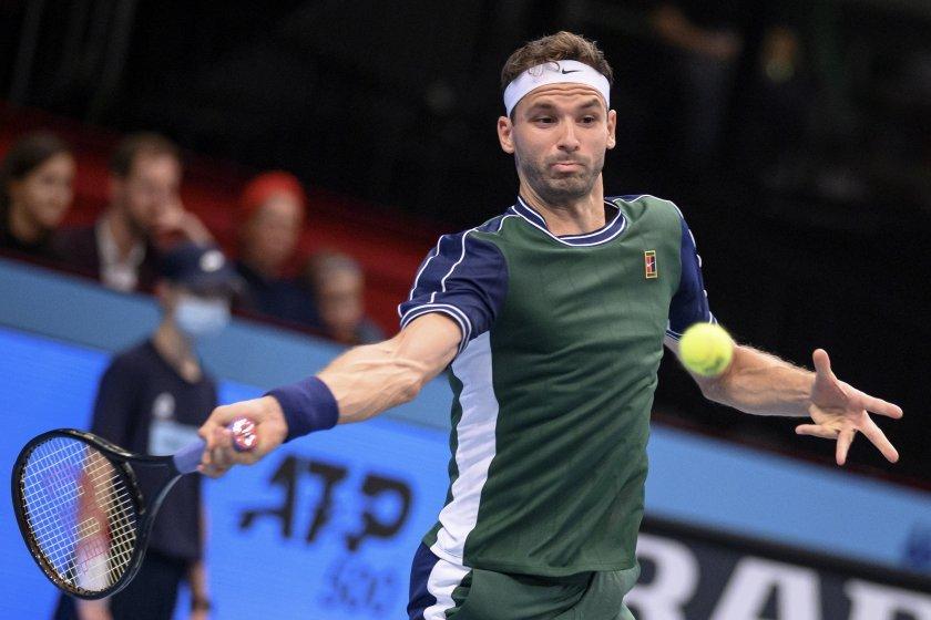 Григор Димитров отпадна на старта на тенис- турнира във Виена