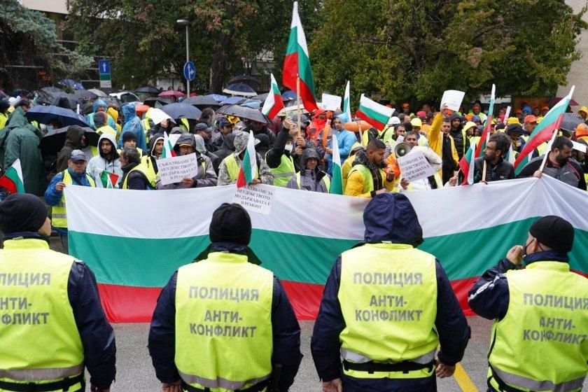 Нов протест на пътностроителния бранш и позицията на МРРБ