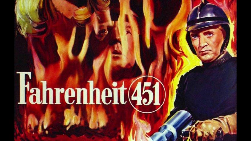 """55 години от екранизацията на """"451 градуса по Фаренхайт"""" на Рей Бредбъри"""