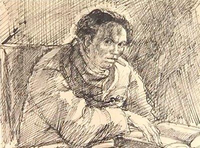 Илия Бешков - човекът, който се превърна в рисунка