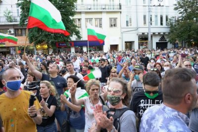 Protests in Bulgaria: A weekend marked by new protesters' camp and two traffic blockades