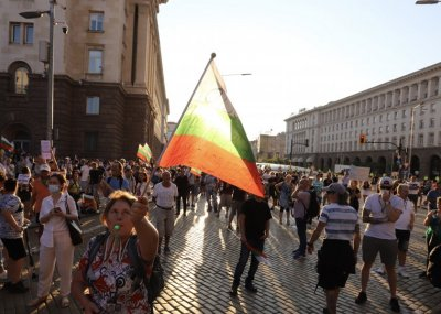 16th day of protests, 10 key crossroads in Sofia blocked