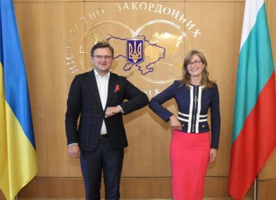 Foreign Minister Zaharieva in Kiev: Bulgaria supports Ukraine's Euro-Atlantic orientation