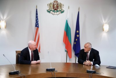 Bulgaria's PM Borissov met with US Assistant Secretary of State Clarke Cooper