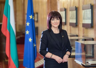 Bulgaria's Parliament Speaker invites European Observers at next parliamentary elections