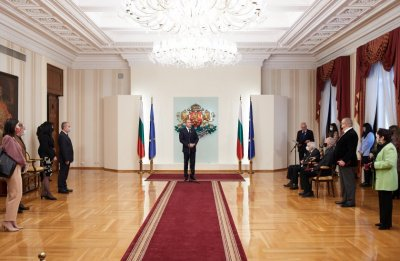 President presented state awards to distinguished Bulgarian scientists and creative artists