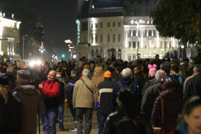 Day 110 of protests in Sofia